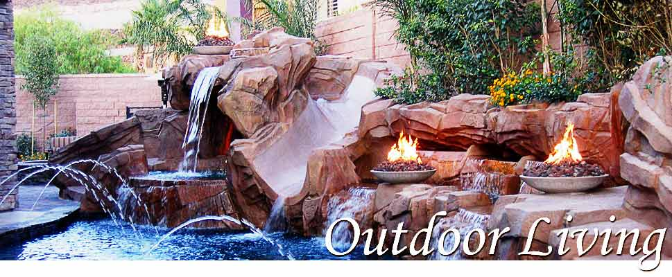 Outdoor Fire Feature